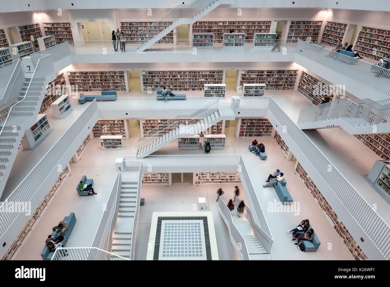 Stuttgart library stock photos stuttgart library stock for Interio stuttgart