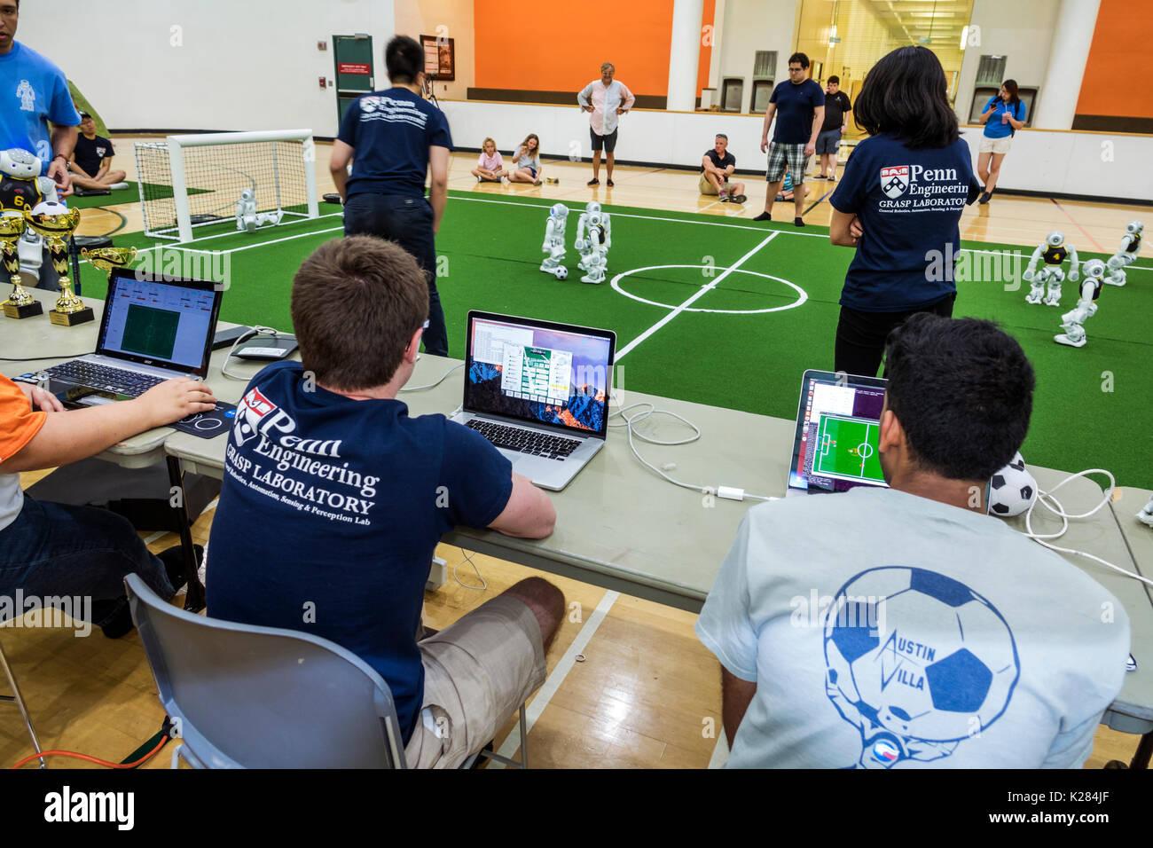 Miami Florida University Of Miami Robocup Open Robots Softbank Stock