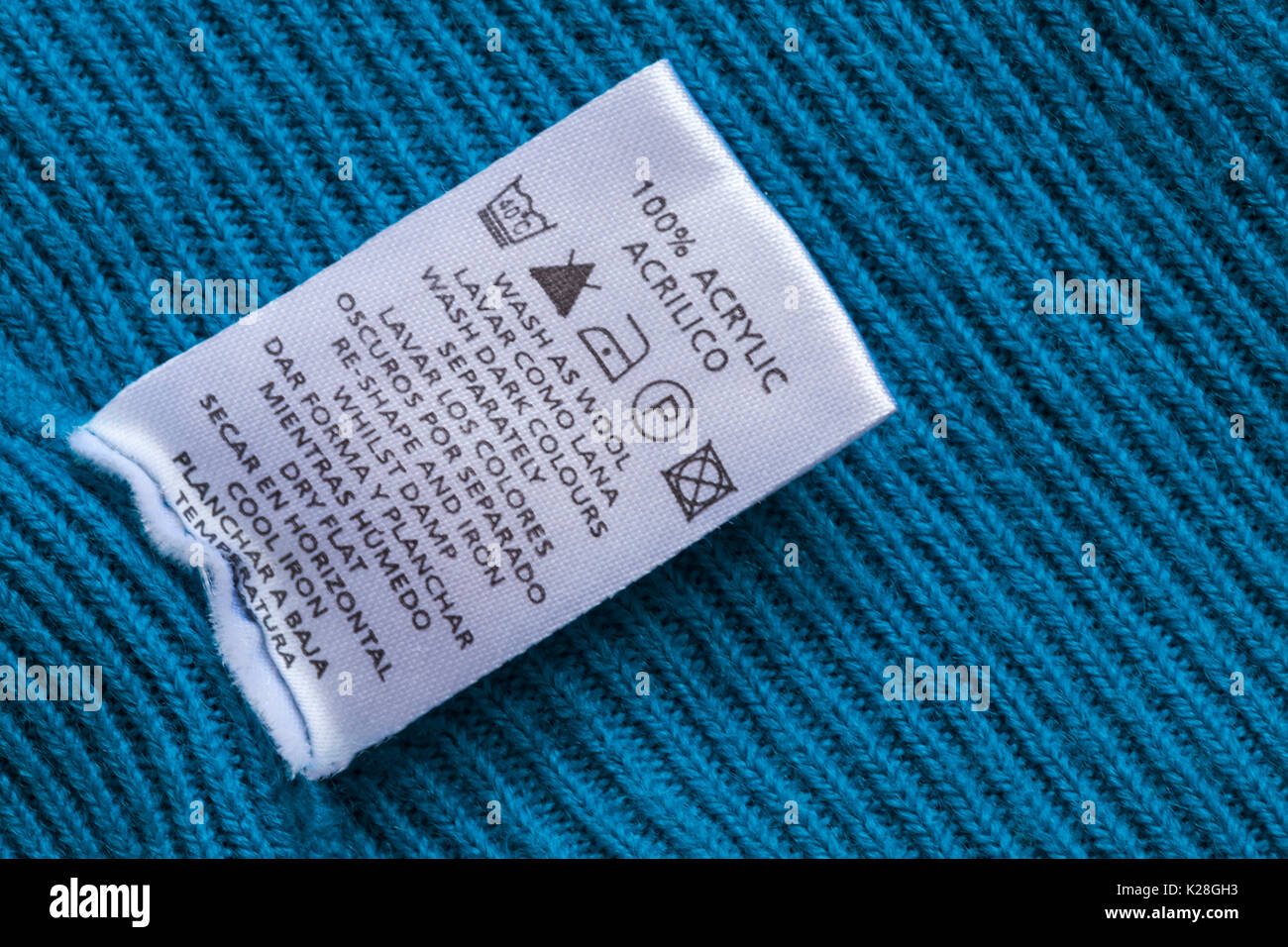 Care washing symbols and instructions on label in 100 acrylic care washing symbols and instructions on label in 100 acrylic blue jumper wash as wool wash dark colours separately in english and spanish biocorpaavc Choice Image