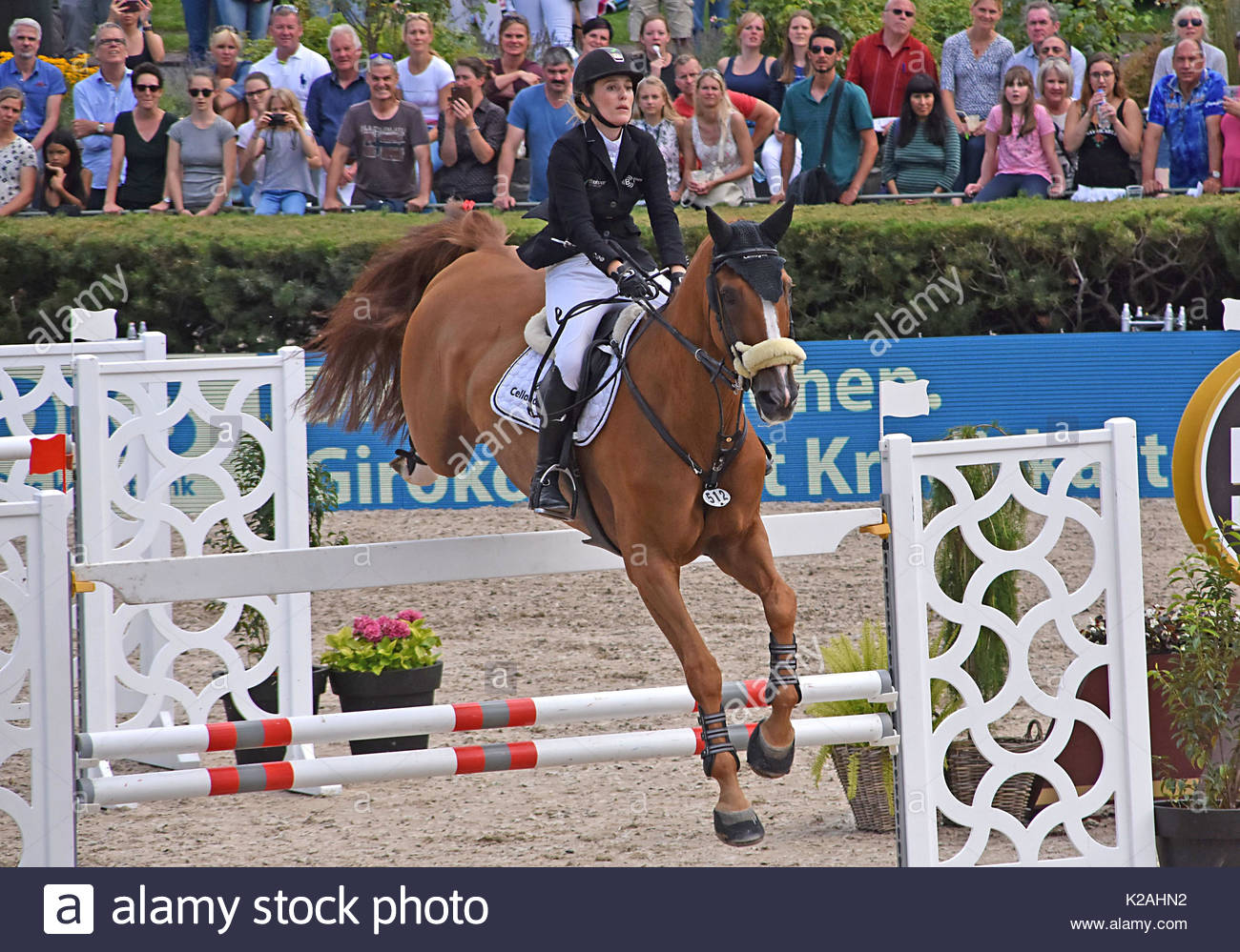 Global Jumping Berlin During Longines Global Champions Tour At - Dem global