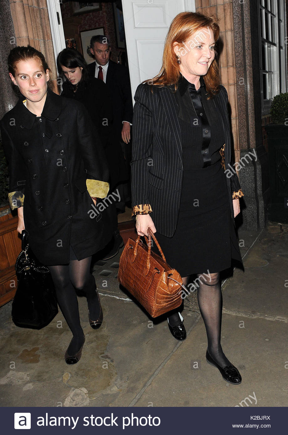 Princess Beatrice And Eugenie Of York Stock Photos