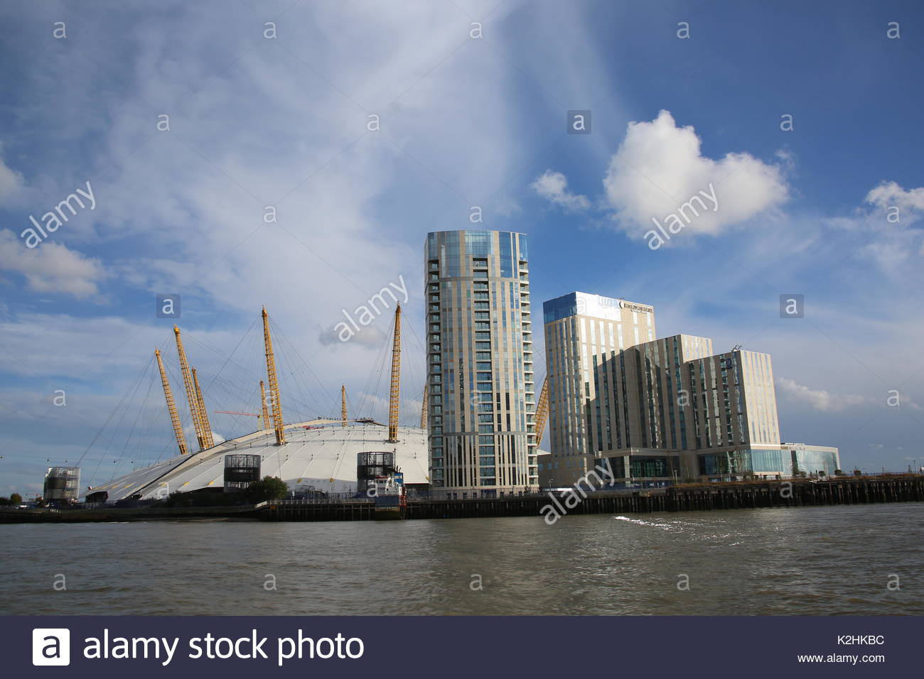 Hotel O2 The O2 Arena And The Intercontinental London Hotel As Seen From A