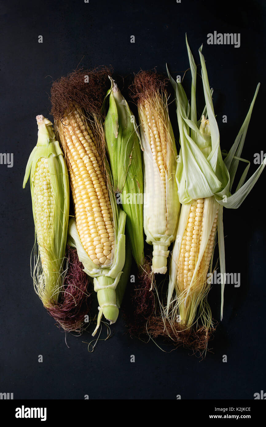 Mini Corn Plant : Sweetcorn plant stock photos