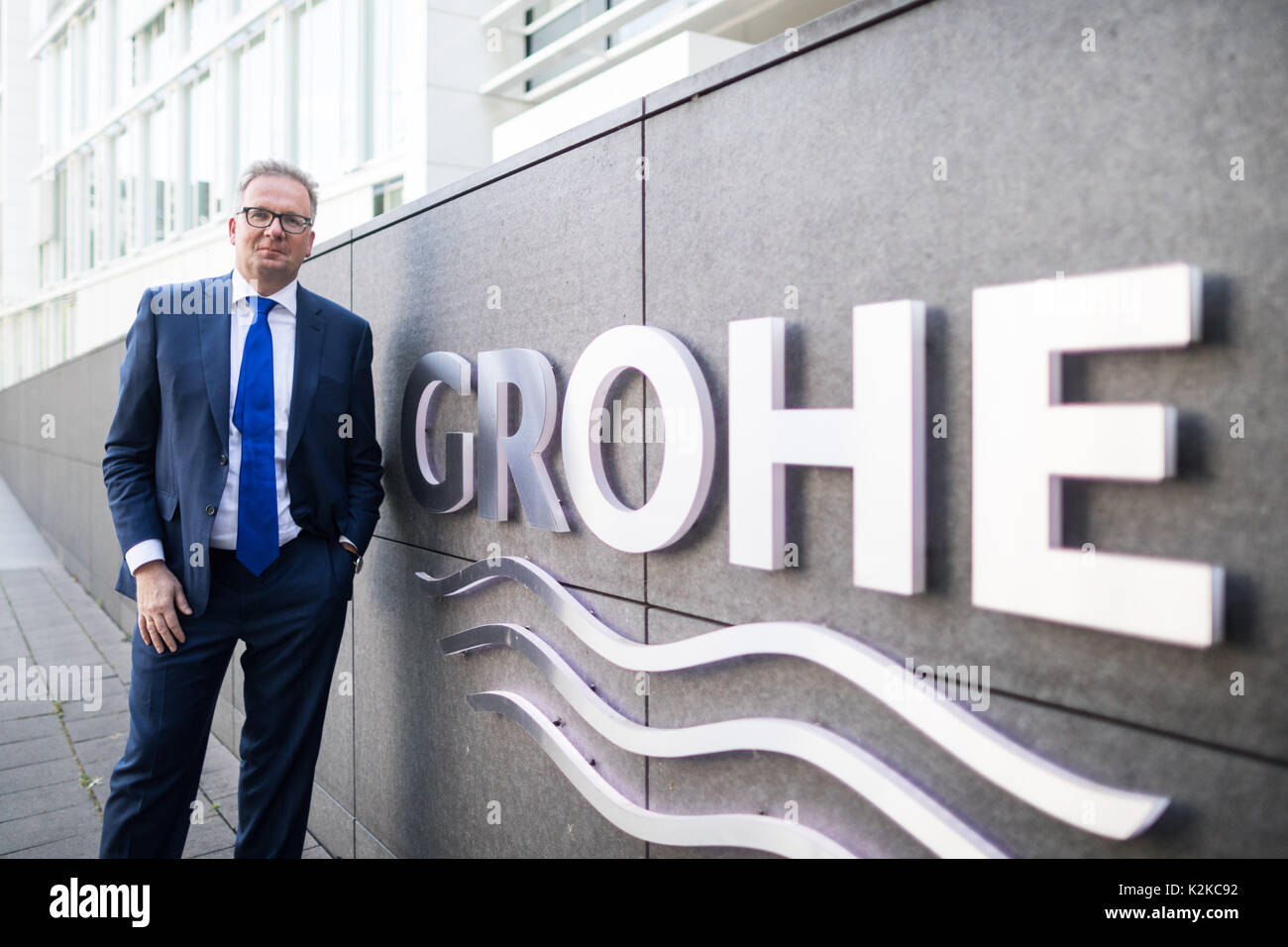 Picture of the Chairman of the Board of Grohe AG, Michael Rauterkus ...