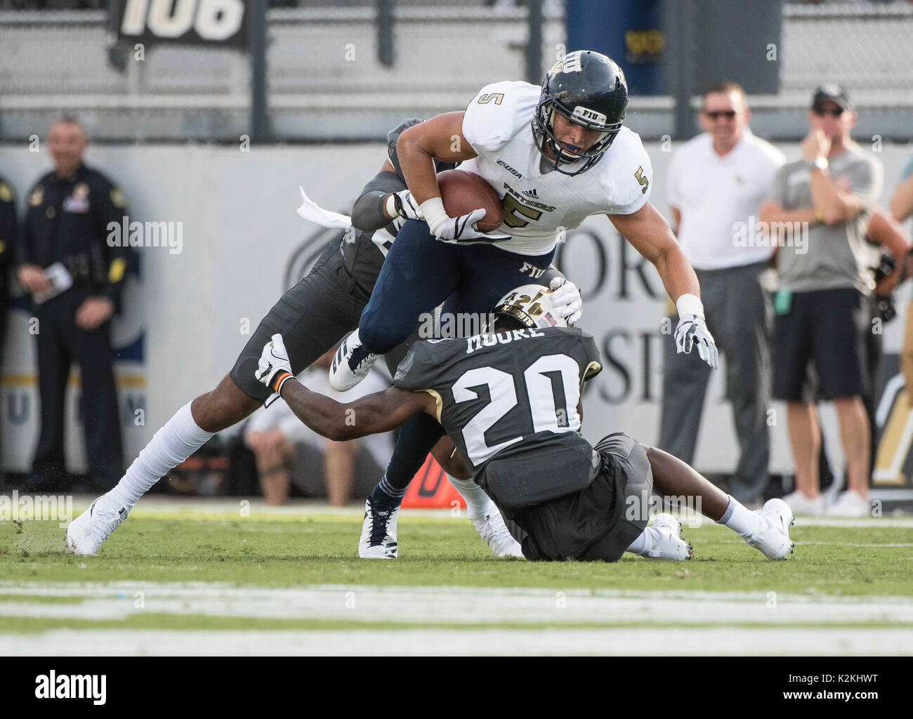August 31 2017 Orlando Fl U S Fiu Panthers Wide Receiver