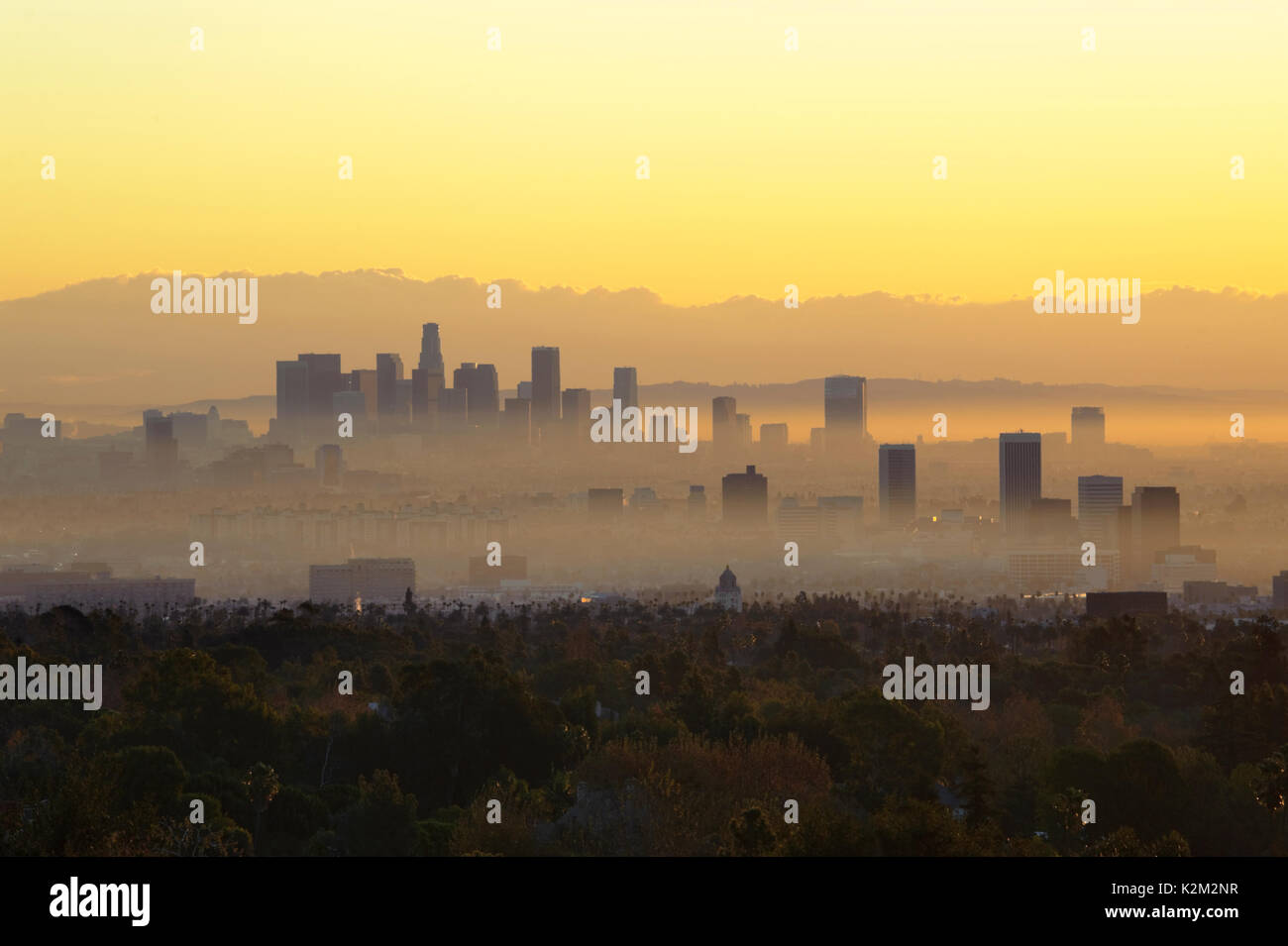 Downtown los angeles in a haze stock photo royalty free image downtown los angeles in a haze sciox Gallery