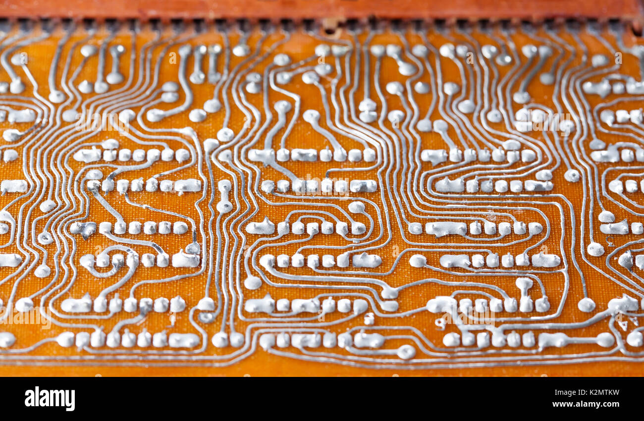 Broken Printed Circuit Board Guide And Troubleshooting Of Wiring By Coldbroken On Deviantart Brown Stock Photos Circut Tv