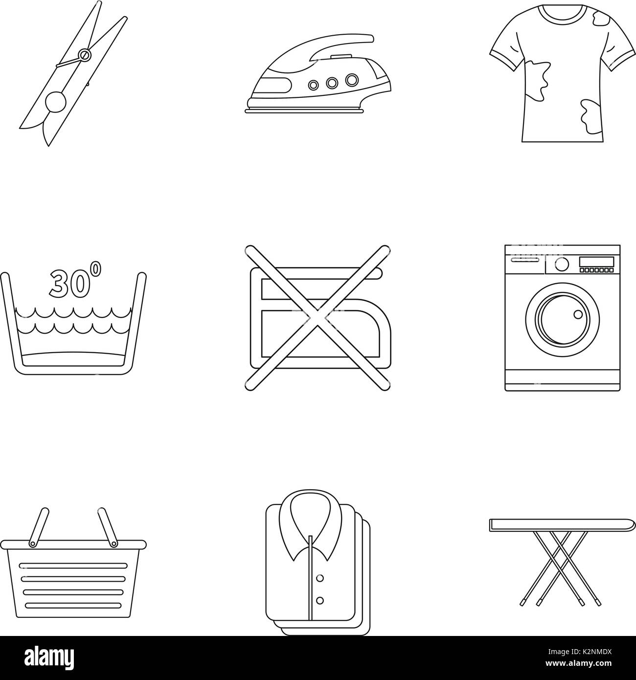 Dry Cleaning Symbol Black And White Stock Photos Images Alamy