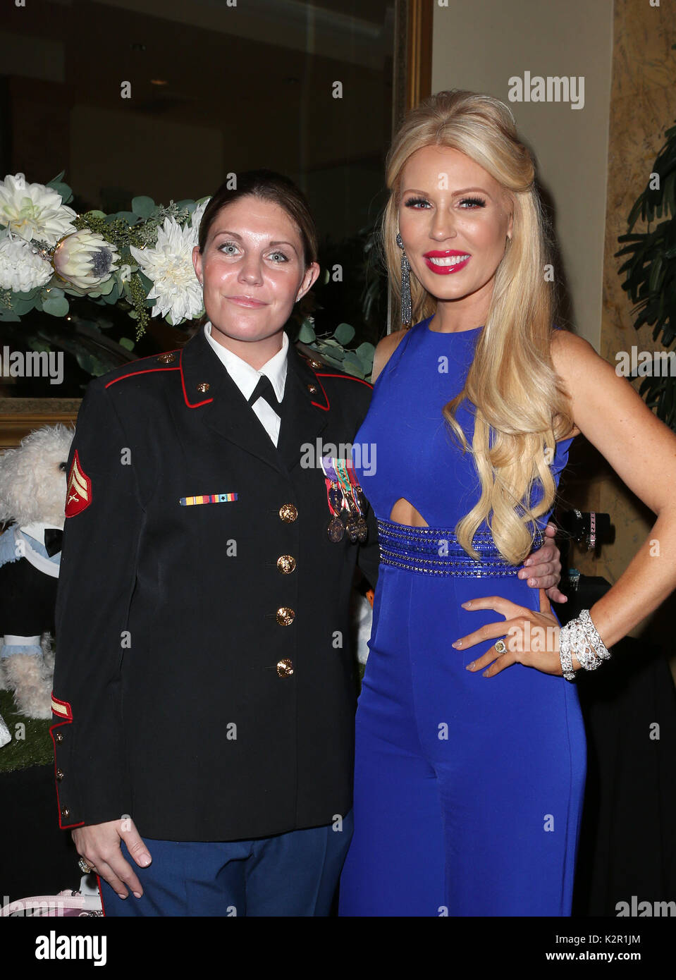 Los Angeles, Ca, USA  9th Nov, 2017  Megan Leavey, Gretchen Rossi