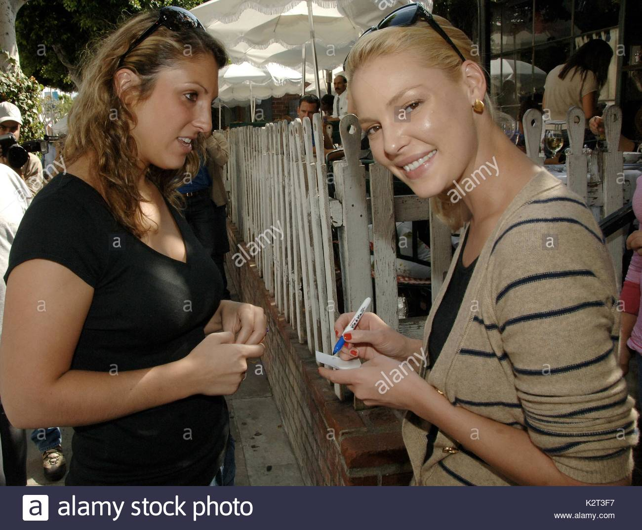 Katherine Heigl Of The Hit Television Show Greys Anatomy Who Won