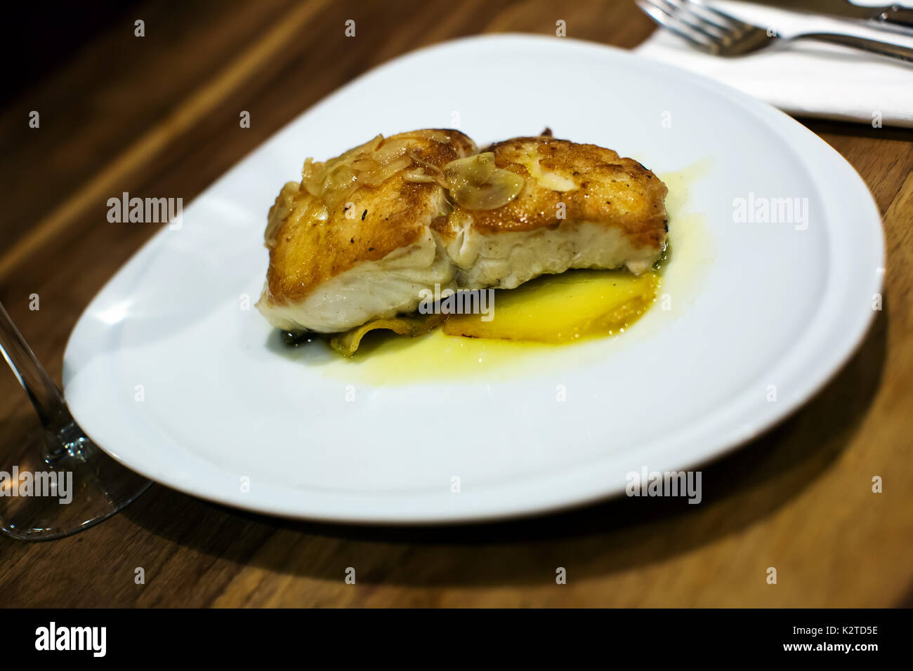 Whiting cooked stock photos whiting cooked stock images for How to cook whiting fish
