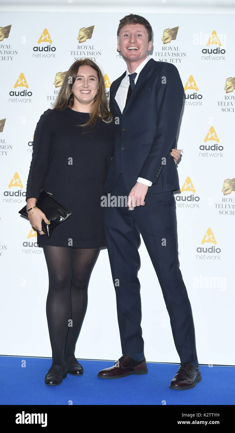 Photo Must Be Credited CAlpha Press 079965 21 03 2017 Steve Stamp And Lily Brazier The RTS Royal Television Society Awards Grosvenor House Hotel London