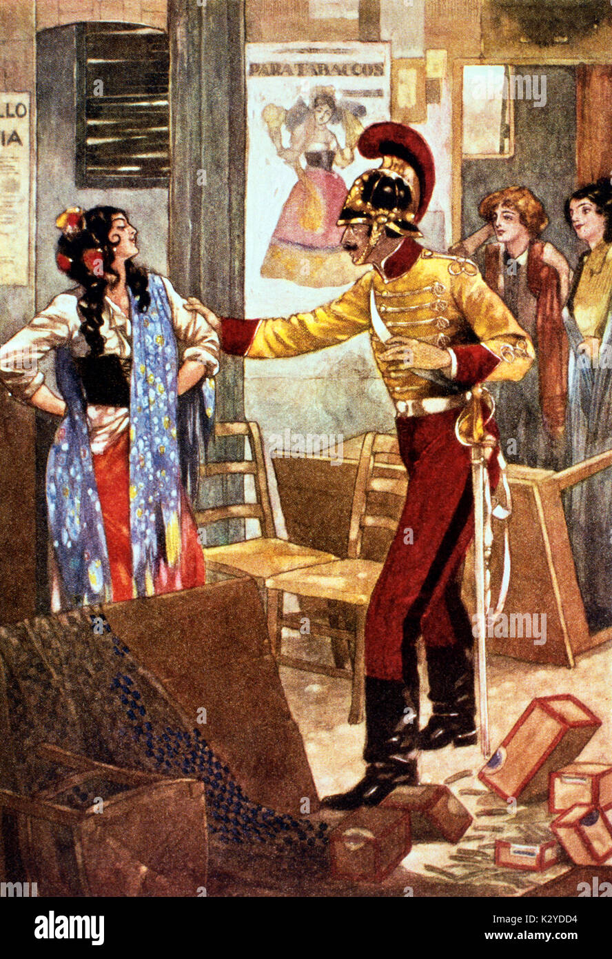 carmen composed by georges bizet essay The music of carmen the opera by georges bizet musically, carmen is prefaced by a short orchestral introduction, very free in form and not elaborate enough to be.