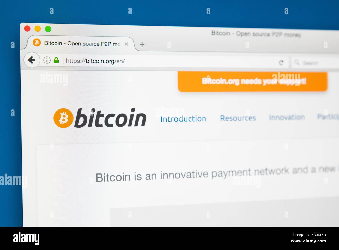Official bitcoin website