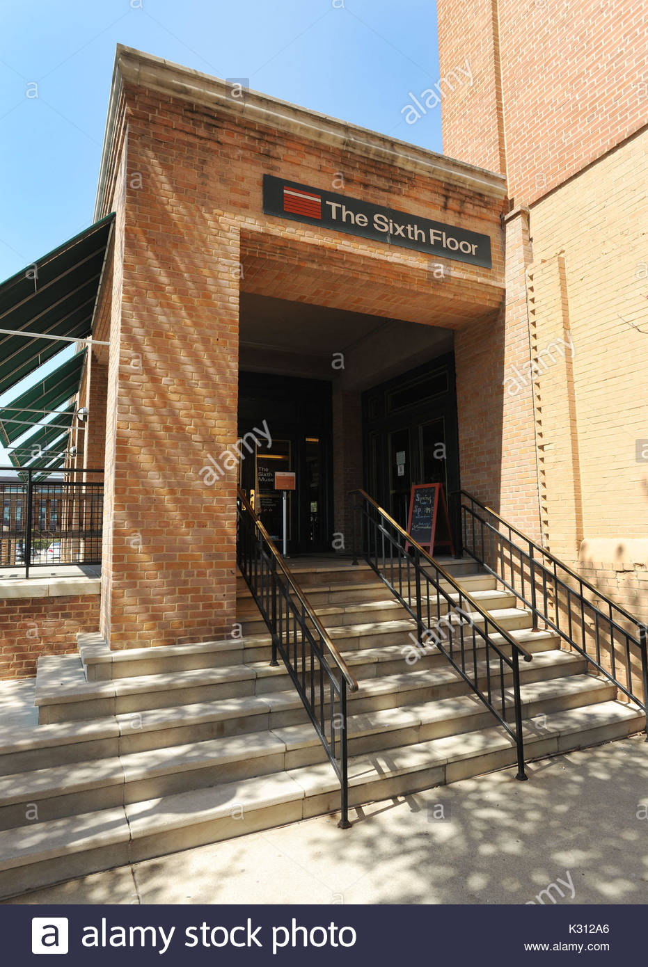 The Sixth Floor Museum. The Sixth Floor Museum At Dealey Plaza In Dallas,  Texas