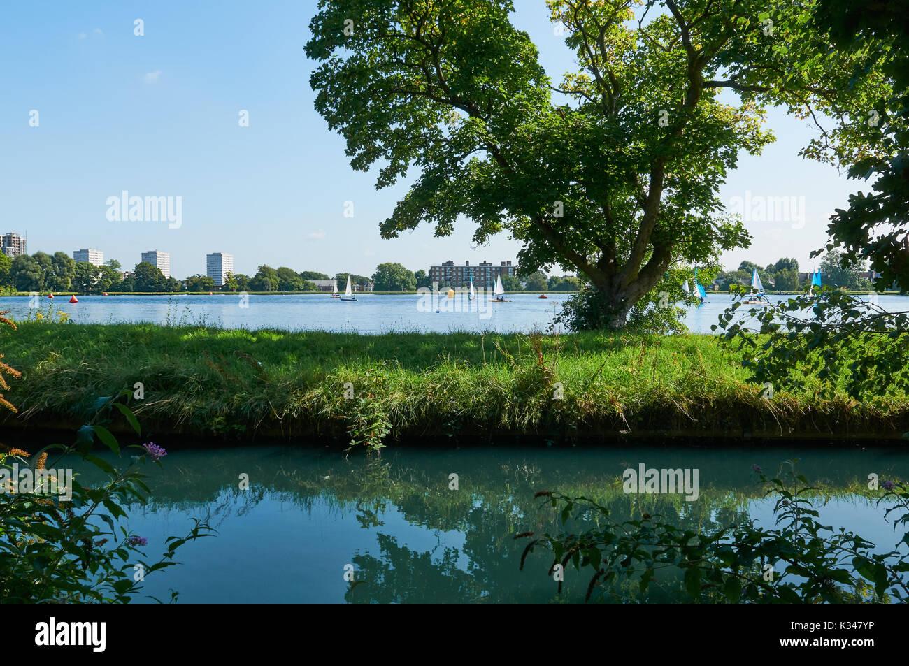 Urban Area Near River Stock Photos & Urban Area Near River ...