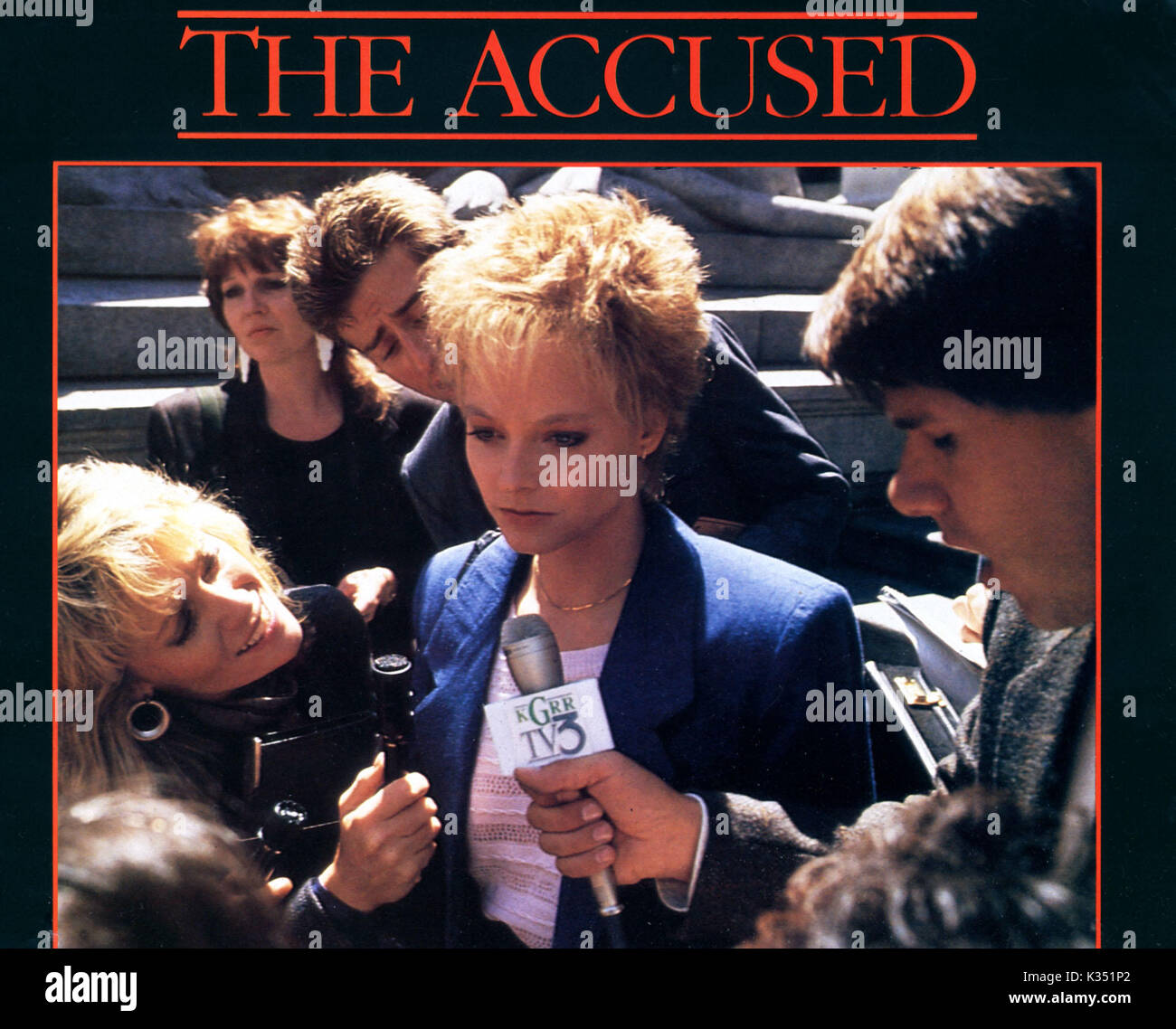 the accused stock photos the accused stock images alamy the accused jodie foster date 1988 stock image