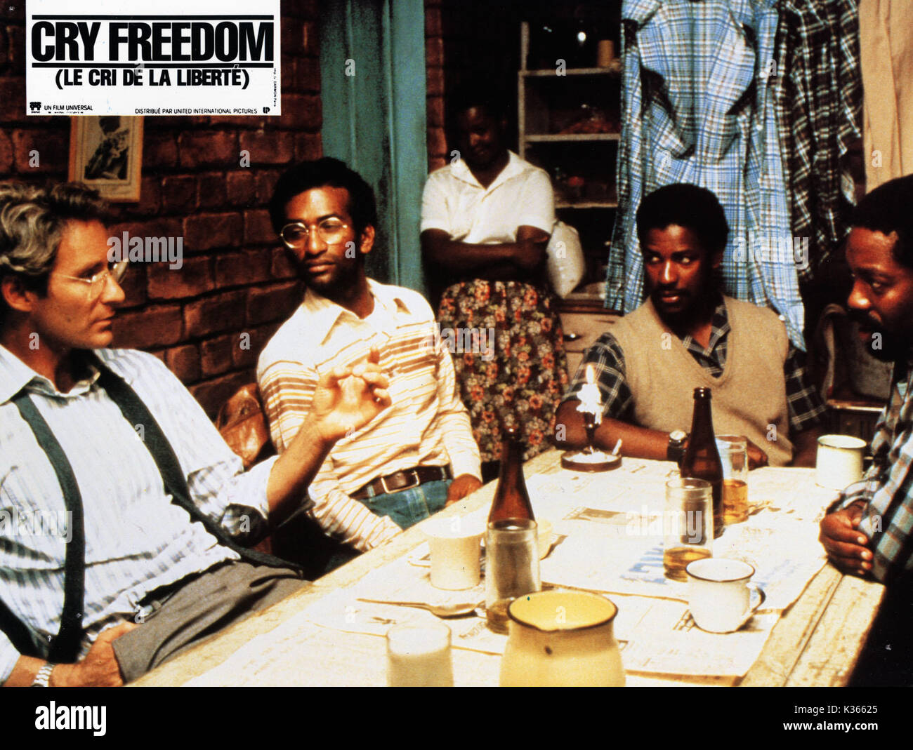 a film study on cry freedom [cert pg, 157 mins] based on the true story of the friendship between steve biko, a black activist, and donald woods, a south african journalist donald woods is chief editor.