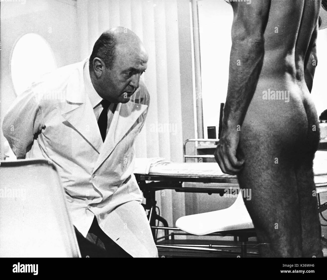 Homo doctors examining patients