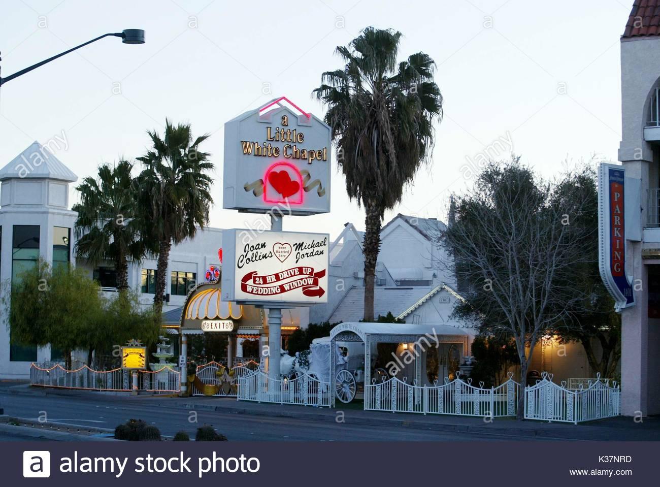 Little White Chaple Las Vegas Wedding Chapel In Where It Is