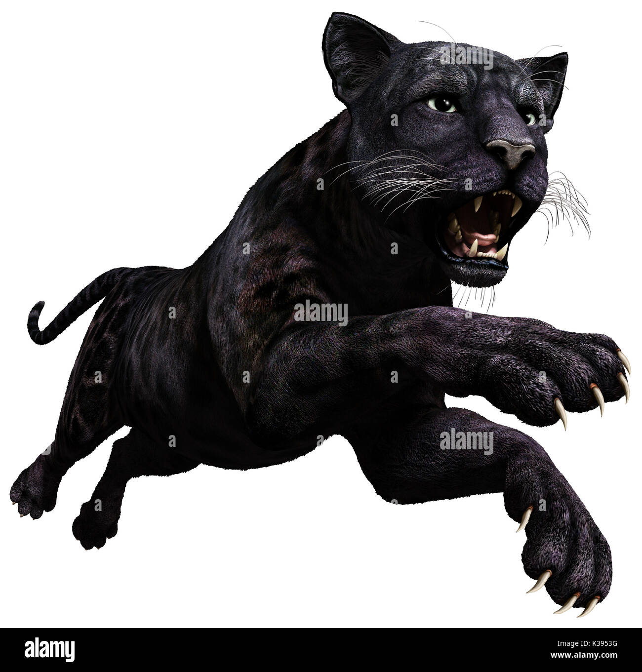 Black Panther Cut Out Stock Images Amp Pictures Alamy