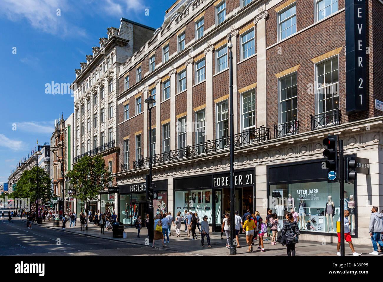 Oxford Street London Stock Photos & Oxford Street London ...
