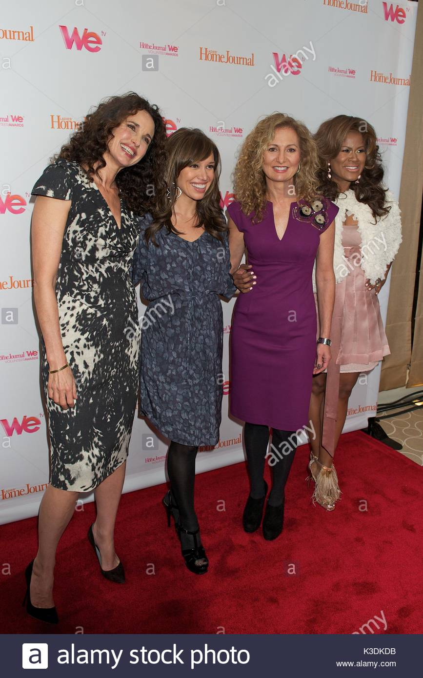 Andie MacDowell, Sally Lee, Sara Gore And Diann Valentine. Andie MacDowell  Hosts The