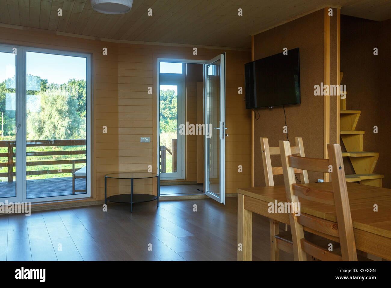 Glass Door Cabin Stock Photos Glass Door Cabin Stock