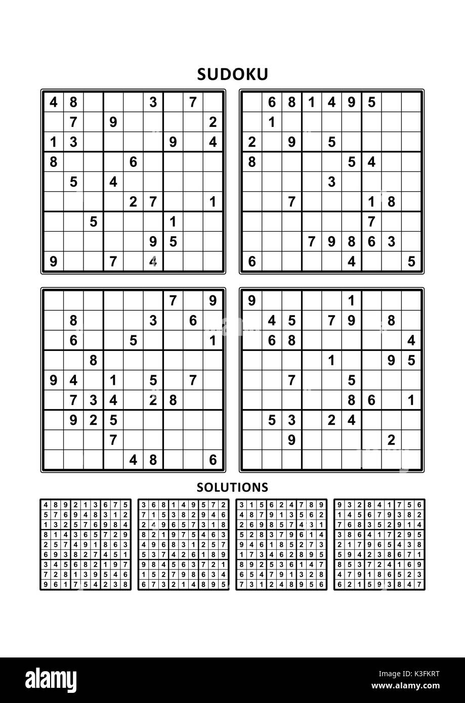 It is an image of Delicate Printable Sudoku 6 Per Page