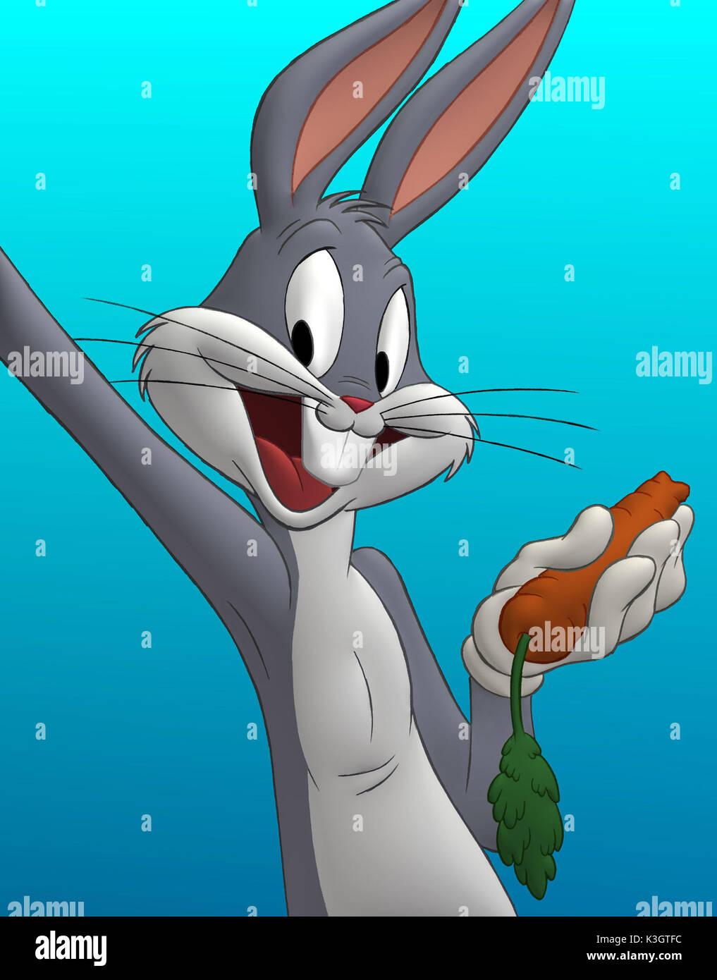 Bugs bunny and lola bunny hugging