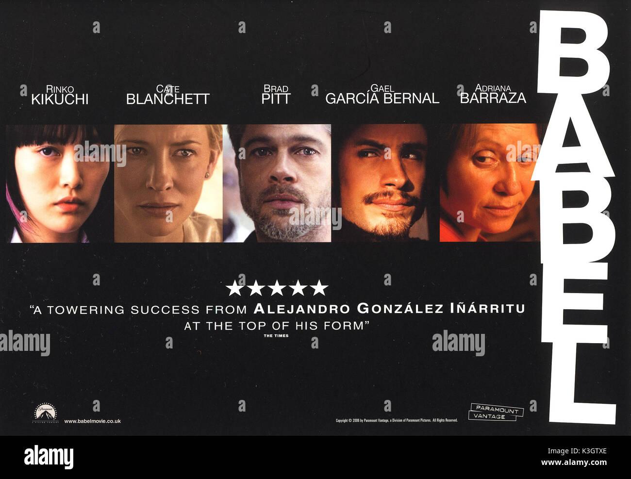 Babel Movie Poster