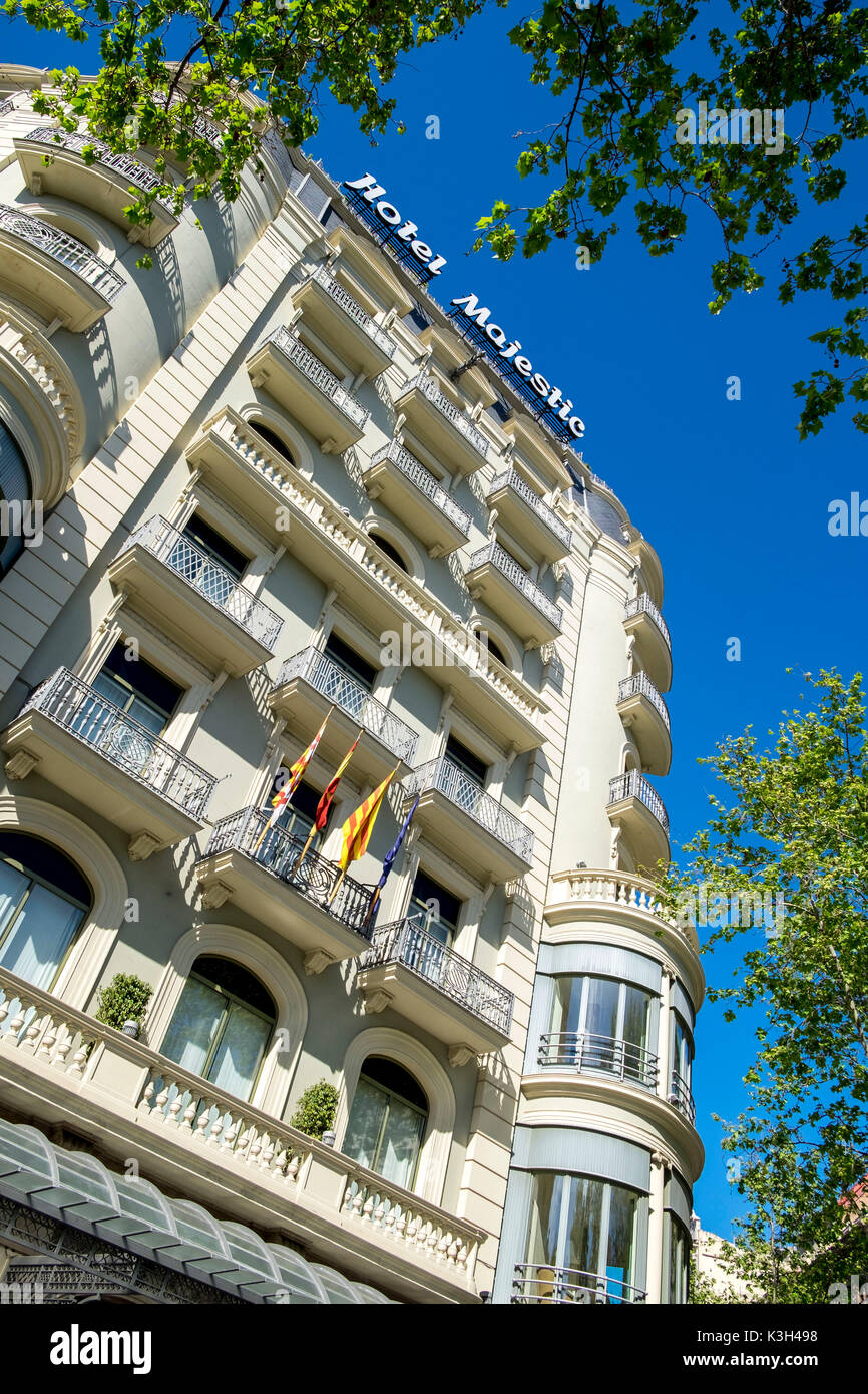 Hotel majestic stock photos hotel majestic stock images for Hotel gracia barcelona