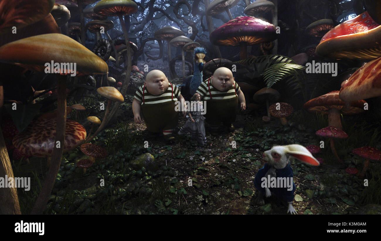 Alice In Wonderland 2010 Tweedledee And Tweedledum