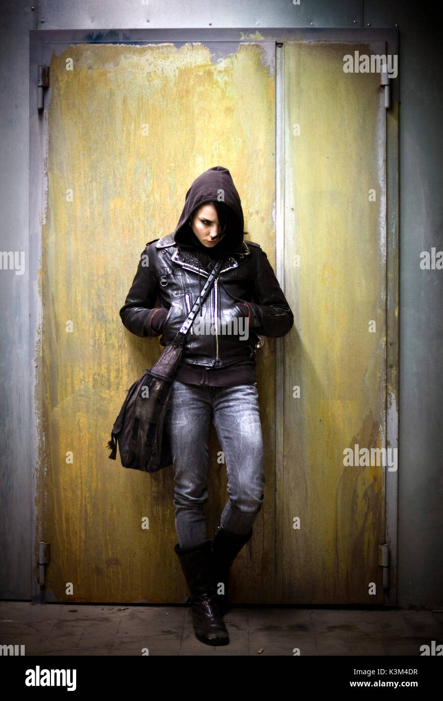 The girl with the dragon tattoo movie stock photos the for Girl with dragon tattoo
