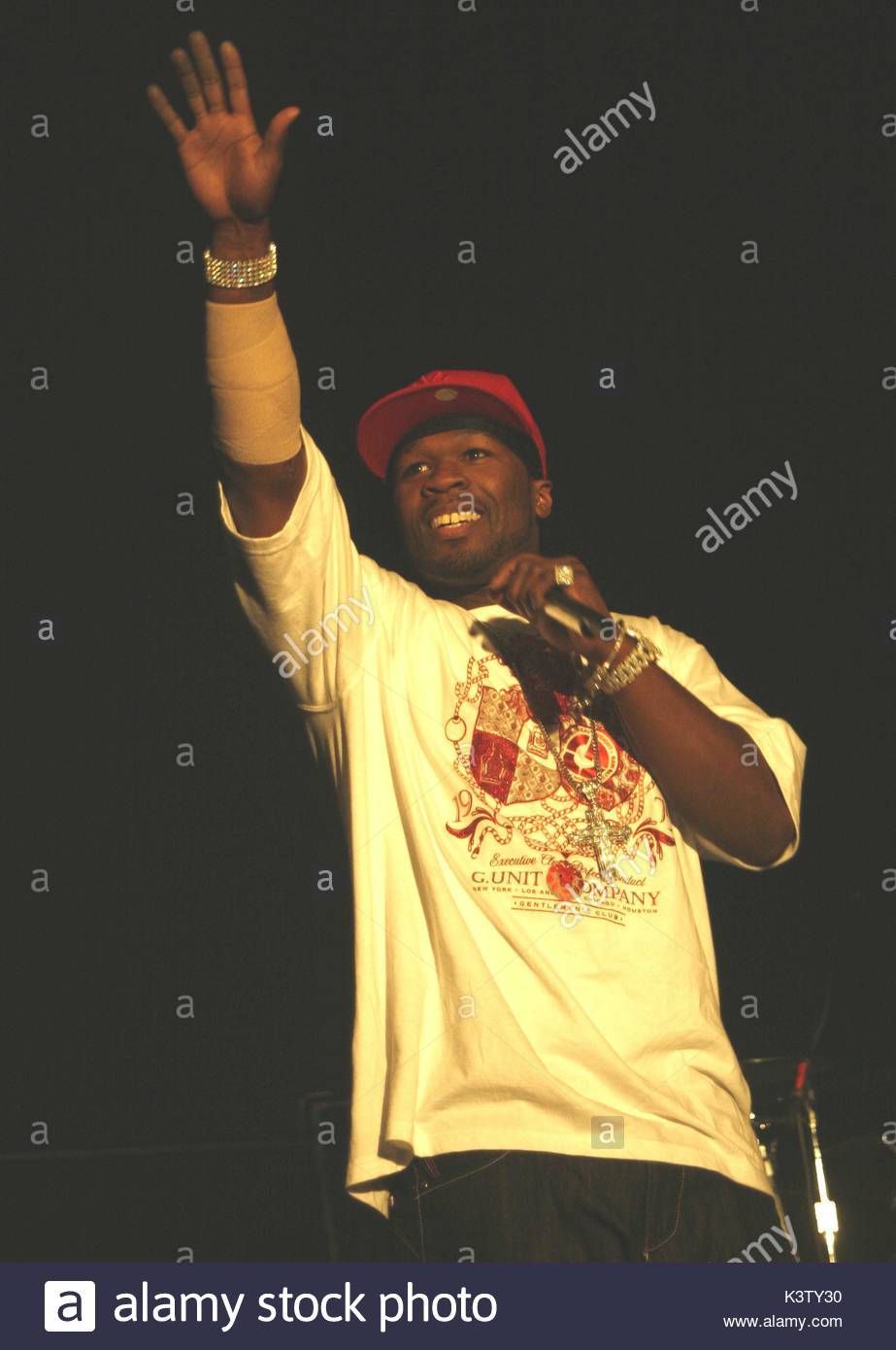 50 Cent Real Name Curtis Jackson Brings His Tour To The Manchester Arena Performing Tracks From His New Al Curtis 50 Cent Is Back In Town As Part Of