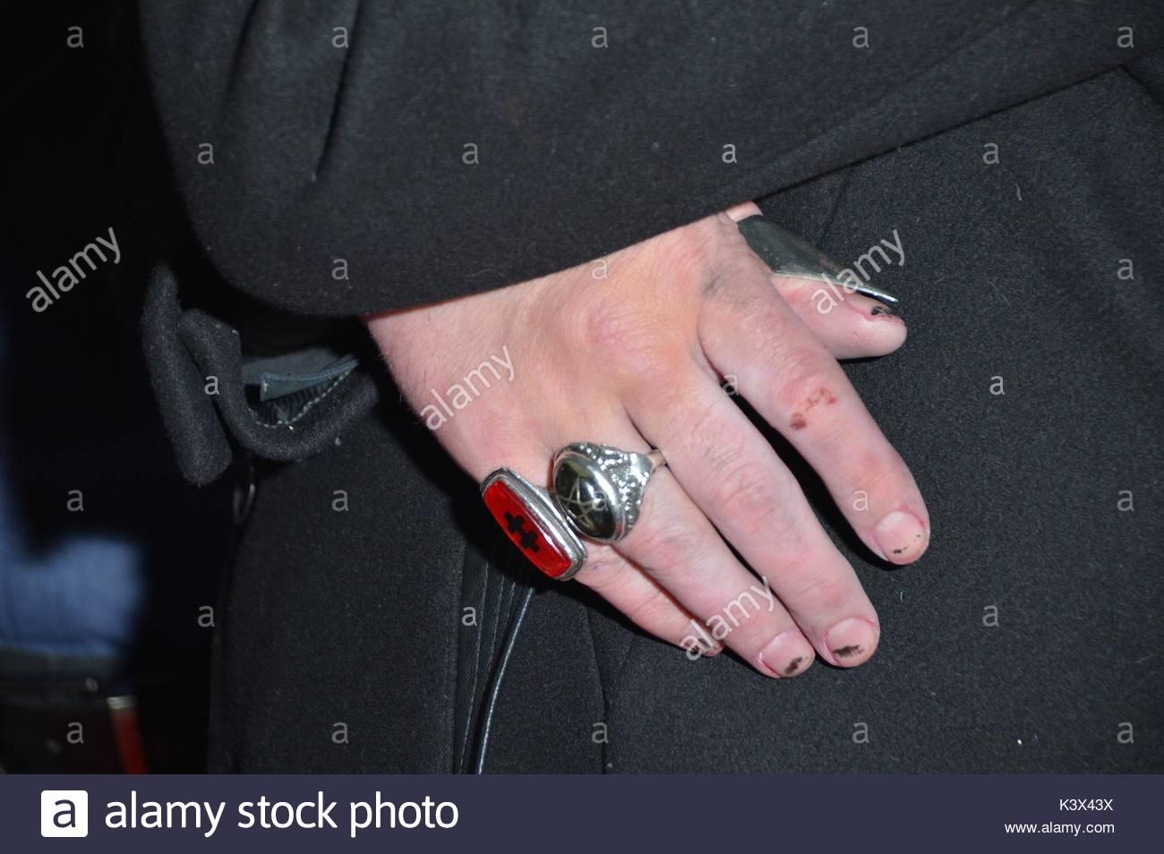 Marilyn Manson. Marilyn Manson arrives at Hyde Bellagio in Las Vegas ...