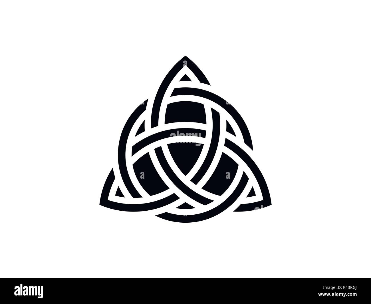Irish celtic ornament stock photos irish celtic ornament stock trinity knot celtic symbol of eternity vector illustration stock image biocorpaavc