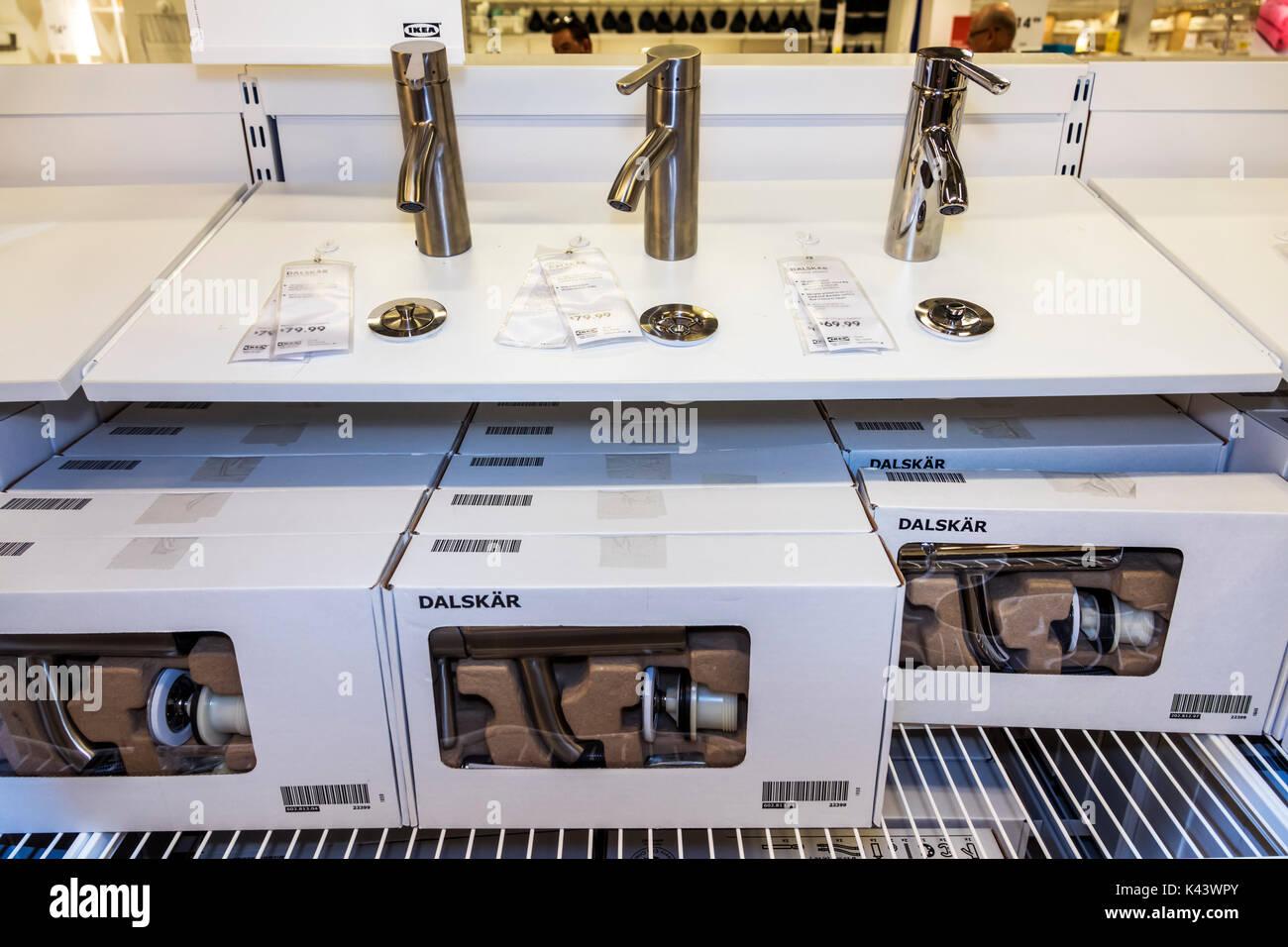 Miami Florida IKEA bathroom faucet Dalskar display sale new Stock ...