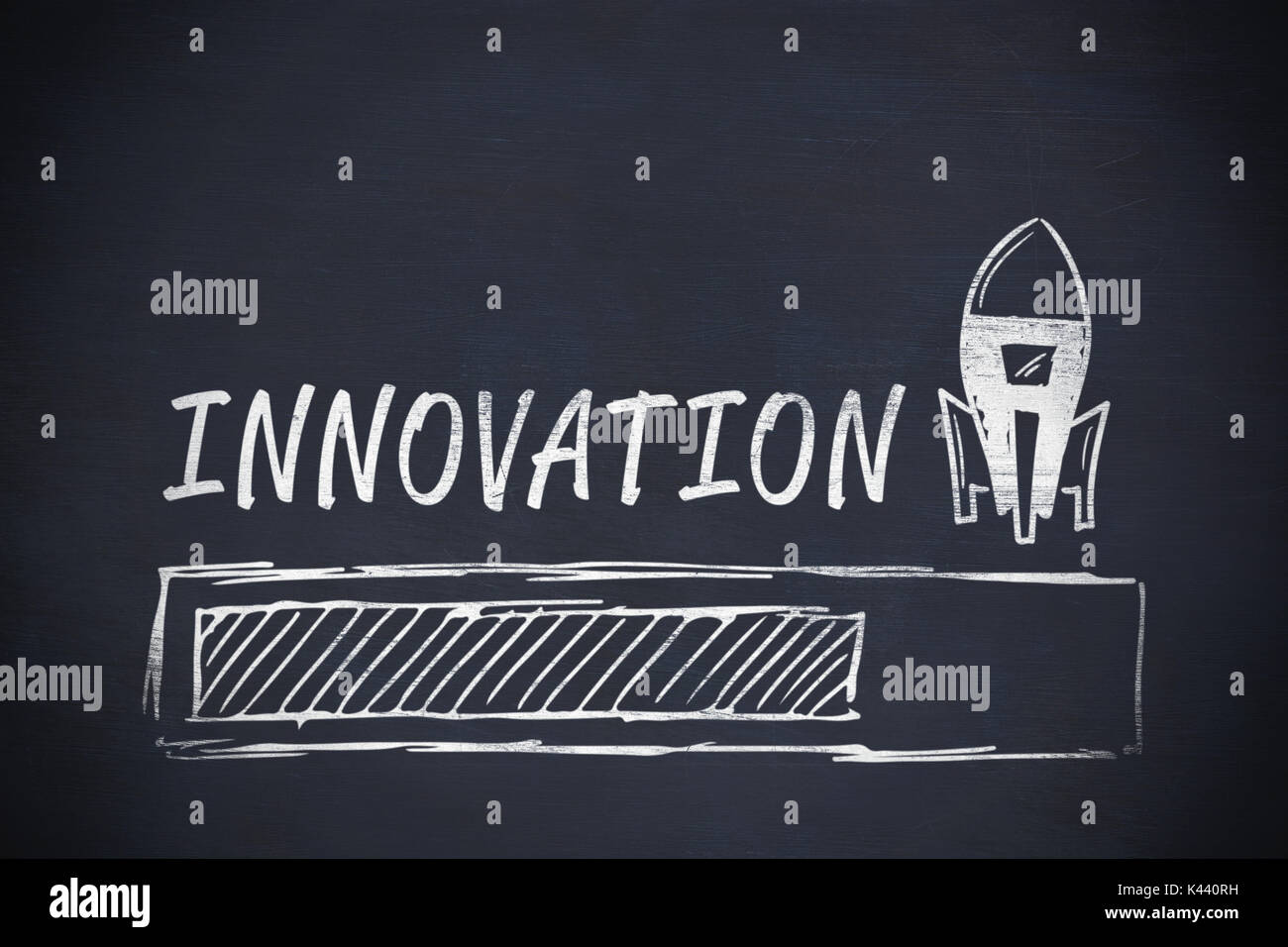 Graphic image of innovation text with loading and rocket symbol graphic image of innovation text with loading and rocket symbol against black background biocorpaavc Image collections