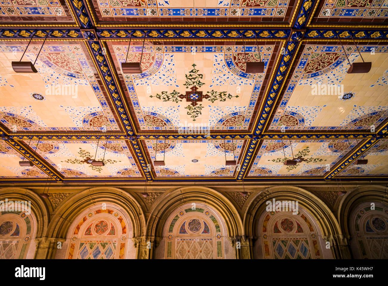 Bethesda terrace stock photos bethesda terrace stock for Terrace new york