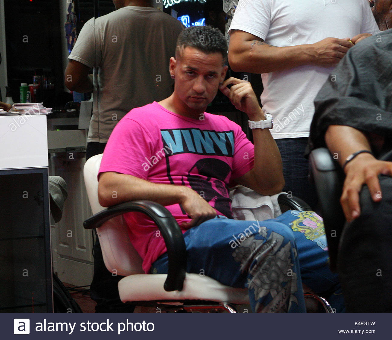 Mike The Situation Sorrentino The Guys Of The Jersey Shore Cast