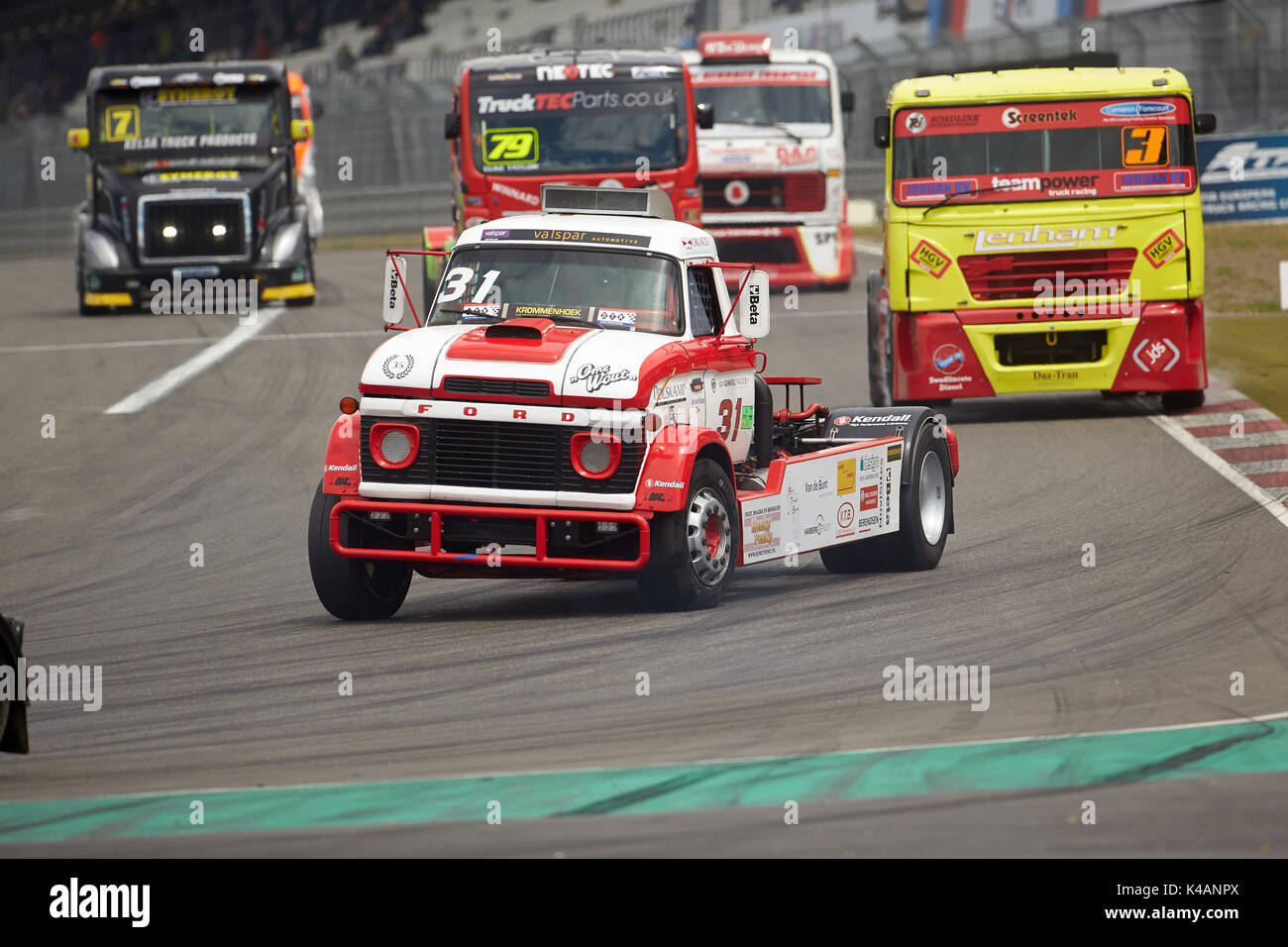 Adac Truck Grand Prix 2017 At The Nürburgring Race Track 1st Race