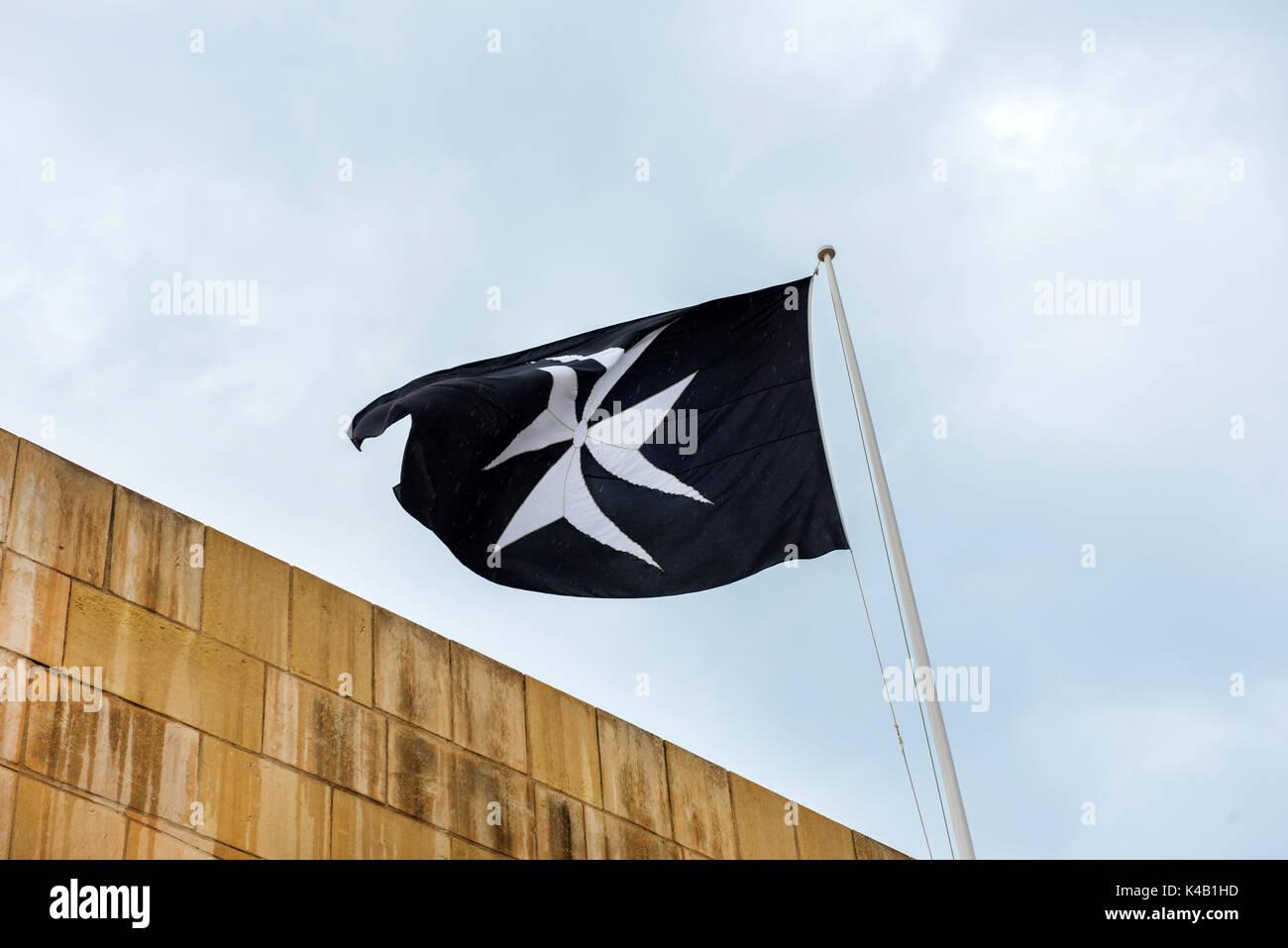 Symbol of the order of saint john the maltese cross on a black symbol of the order of saint john the maltese cross on a black flag biocorpaavc