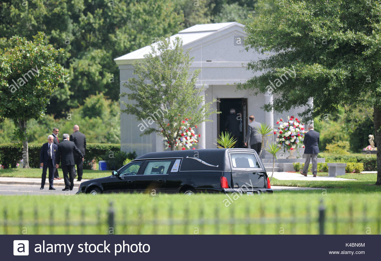 Attractive George M Steinbrenner III Is Laid To Rest At Trinity Memorial Gardens In  Tampa, Florida, During A Private Funeral Attended By His Immediate Family