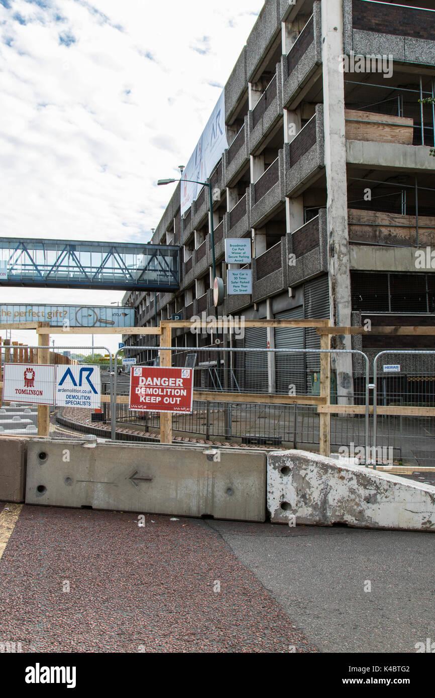 Broadmarsh Shopping Centre Car Park