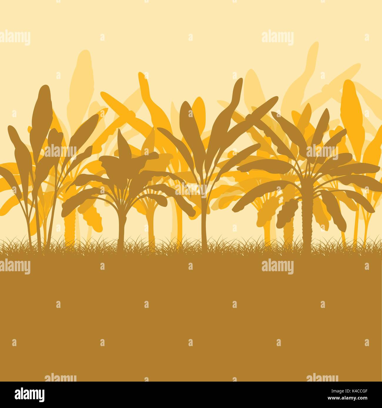 Farm Field Illustration