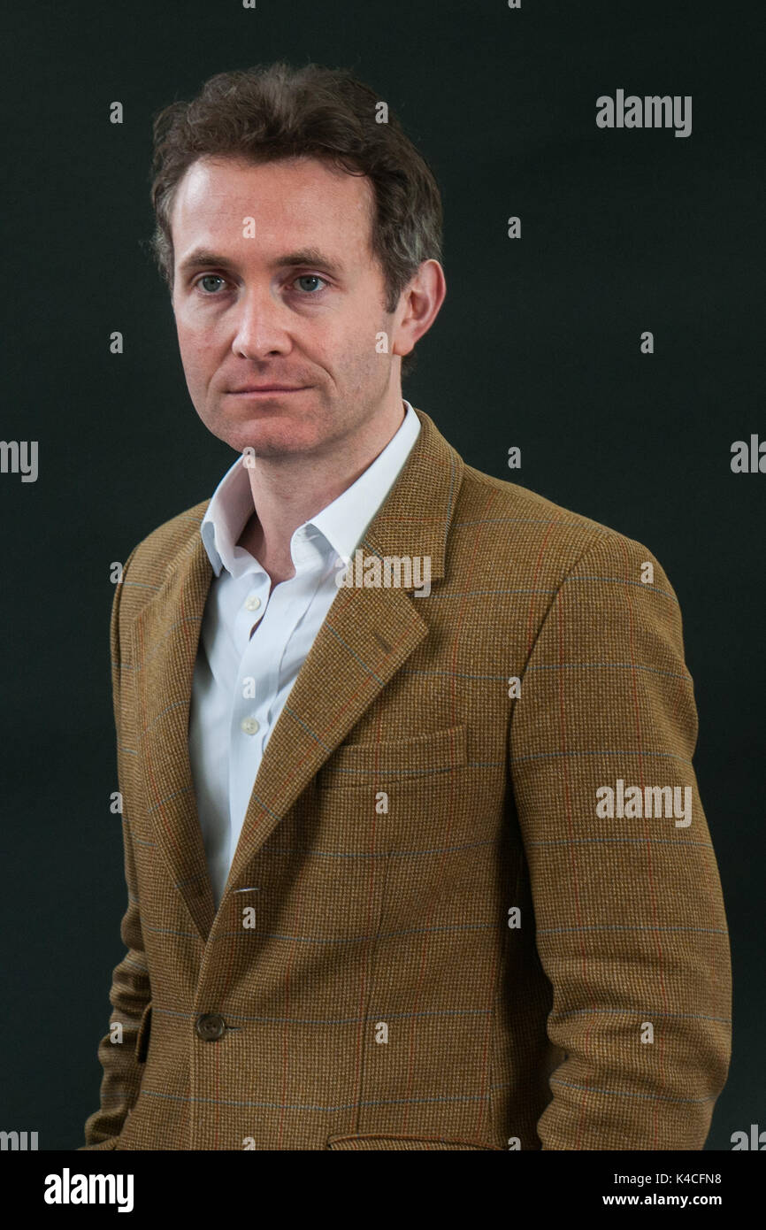 British Author Journalist And Political Commentator Douglas Murray Attends A Photocall During The Edinburgh International Book Festival On August