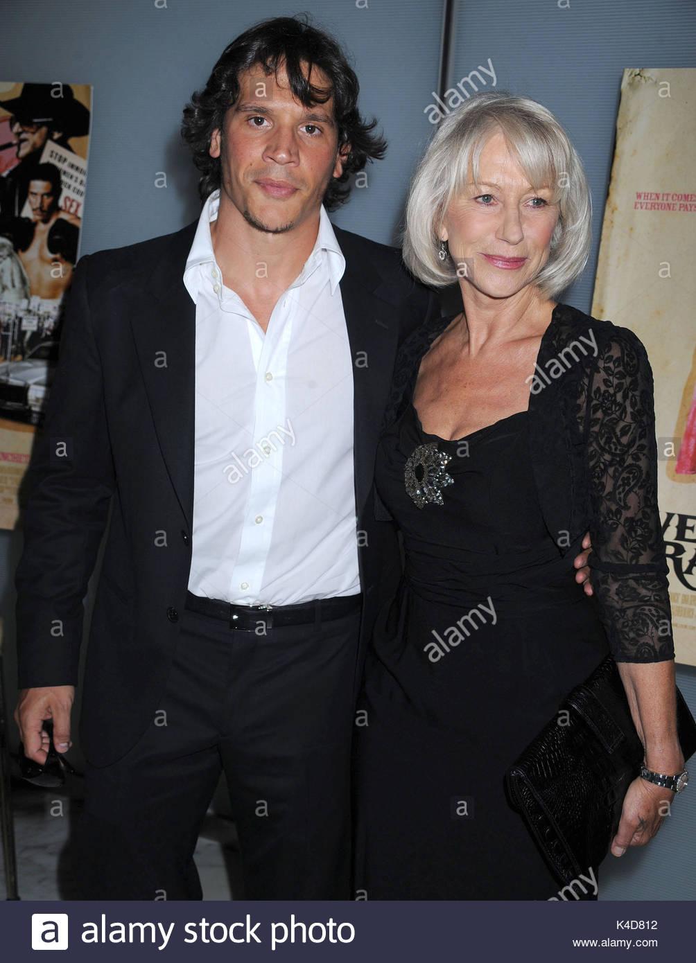 Sergio Peris Mencheta And Helen Mirren Nyc Premiere Of Love Ranch