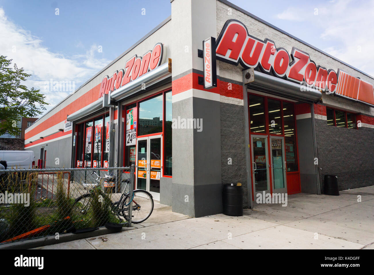After Market Stock Quotes An Autozone Aftermarket Auto Parts Store In The Bronx In New York