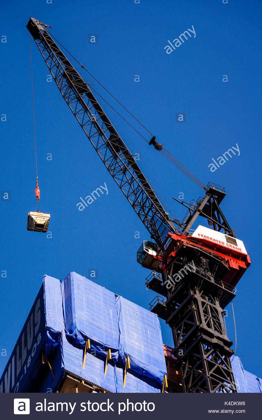Tower Crane New York : Kangaroo jack usa stock photos